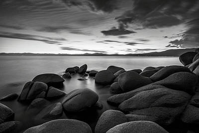 Print featuring the photograph East Shore Serenity - Lake Tahoe by Brad Scott