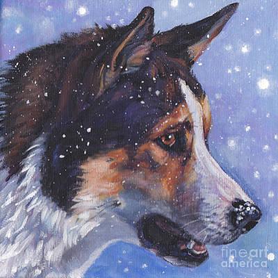Painting - East Siberian Laika by Lee Ann Shepard