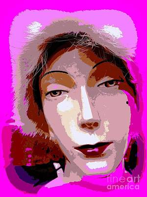 Mixed Media - East Side Edith by Ed Weidman