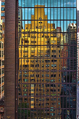 Photograph - East Side Reflection by Chris Lord