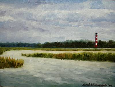 Painting - East Side View by Sarah Grangier