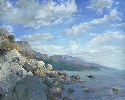 East View. A Seascape In The Vicinity Of Foros Mmxi Original
