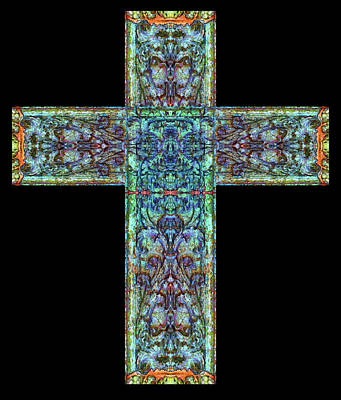 Digital Art - East West Cross 1 by Zac AlleyWalker Lowing