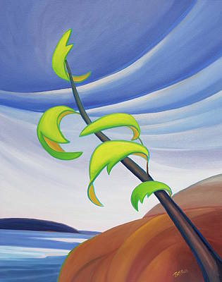 Painting - East Wind by Barbel Smith