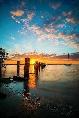 Evening Scenes Photograph - East Wind by Marvin Spates