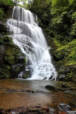 Photograph - Eastatoe Falls Rages by Carol Montoya