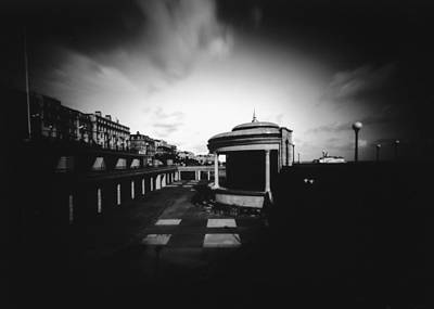 Photograph - Eastbourne Bandstand, Pinhole by Will Gudgeon