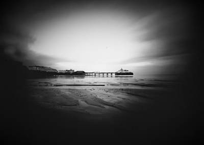 Photograph - Eastbourne Beach, Pinhole. by Will Gudgeon