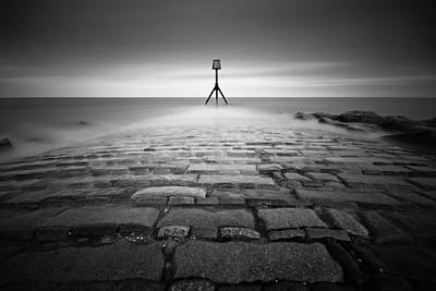 Photograph - Eastbourne Jetty, 10 Minute Exposure by Will Gudgeon