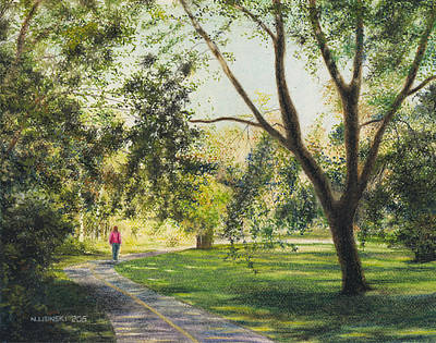 Painting - Eastbourne Park Oshawa No. 5 by Norb Lisinski