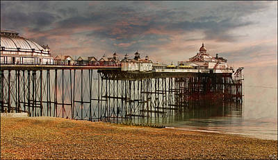 Eastbourne Pier Art Print by Chris Lord