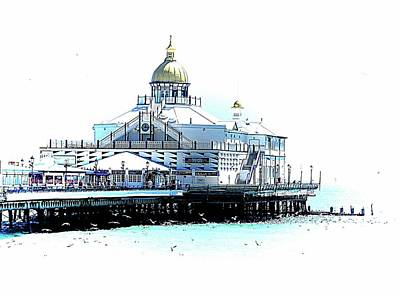 Photograph - Eastbourne Pier by Dorothy Berry-Lound