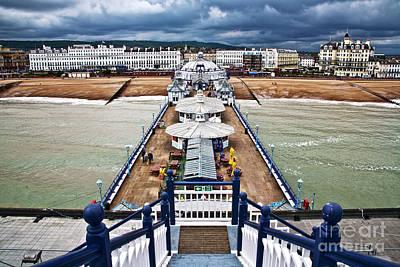 Eastbourne Photograph - Eastbourne Pier by Heiko Koehrer-Wagner