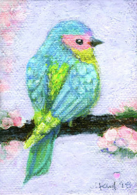 Bird Wall Art - Painting - Easter Bird by Kato D