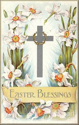 Digital Art - Easter Blessing by David and Lynn Keller