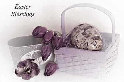 Mixed Media - Easter Blessings No. 1 by Sherry Hallemeier