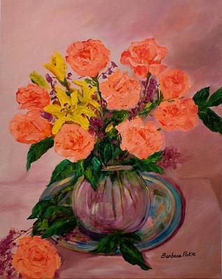 Painting - Easter Bouquet by Barbara Pirkle