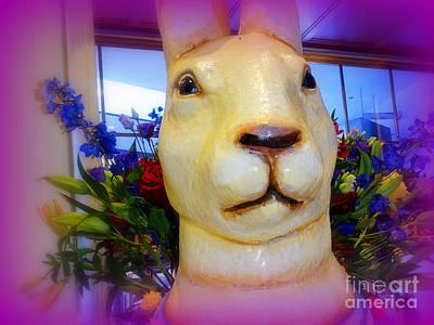 Digital Art - Easter Bunny Bouquet by Ed Weidman