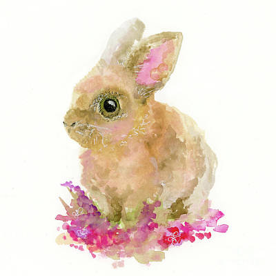 Painting - Easter Bunny by Lauren Heller