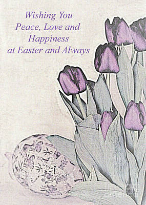 Photograph - Easter Card No. 2 by Sherry Hallemeier
