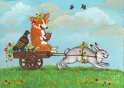 Painting - Easter Carriage by Margaryta Yermolayeva