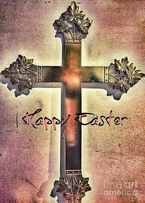Photograph - Easter Cross by Jenny Revitz Soper
