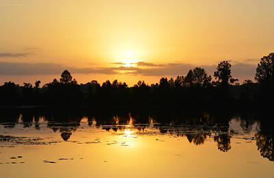 Photograph - Easter Dawn Sky Over Alligator Lake by rd Erickson