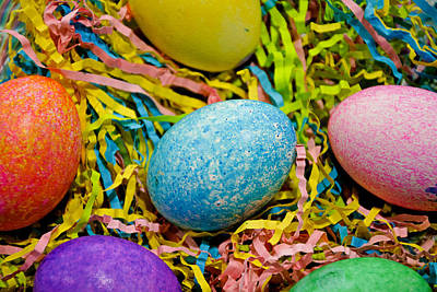 Photograph - Easter Egg Study 8 by Robert Meyers-Lussier