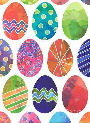 Digital Art - Easter Eggs 2 by Whitney Morton