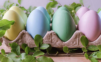 Photograph - Easter Eggs 25 by Andrea Anderegg