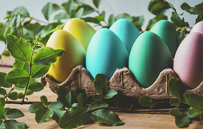Photograph - Easter Eggs 28 by Andrea Anderegg