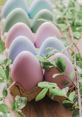 Photograph - Easter Eggs 29 by Andrea Anderegg