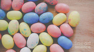 Photograph - Easter Eggs 8 by Andrea Anderegg