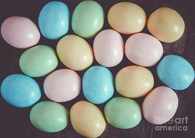 Photograph - Easter Eggs 9 by Andrea Anderegg