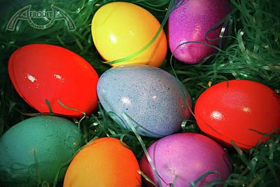 Photograph - Easter Eggs by Afrodita Ellerman