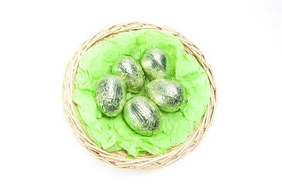 Photograph - Easter Eggs IIi by Helen Northcott