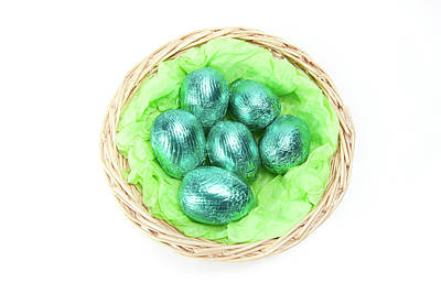 Photograph - Easter Eggs Iv by Helen Northcott