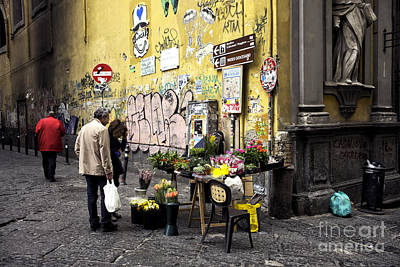Photograph - Easter Flowers In Naples by John Rizzuto