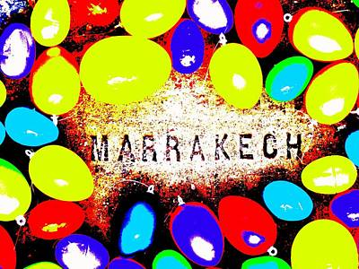 Morroco Photograph - Easter In Marrakech by Funkpix Photo Hunter