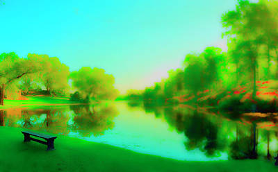 Photograph - Easter Lagoon by Jan W Faul