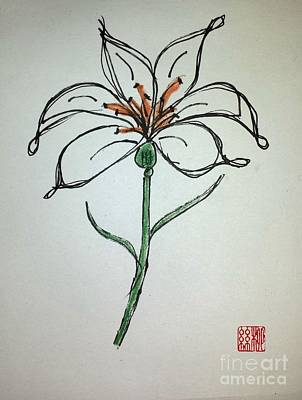 Painting - Easter Lily by Margaret Welsh Willowsilk