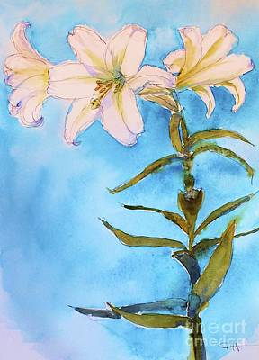 Painting - Easter Lily by Patricia Henderson