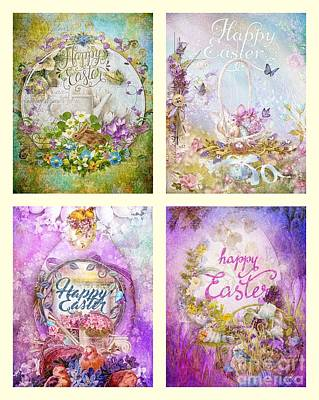 Painting - Easter Mood Collection by Mo T