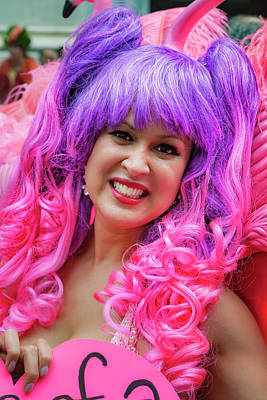 Royalty-Free and Rights-Managed Images - Easter Parade NYC 2017 Pink and Purple by Robert Ullmann