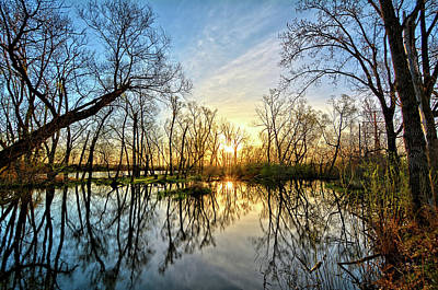 Photograph - Easter Reflections by Bonfire Photography