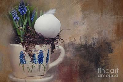 Photograph - Easter Still Life by Eva Lechner