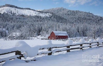 Photograph - Easterday Ranch 3 by Idaho Scenic Images Linda Lantzy