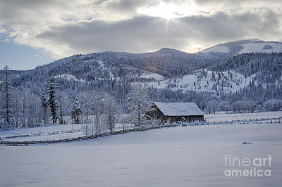 Photograph - Easterday Ranch 4 by Idaho Scenic Images Linda Lantzy