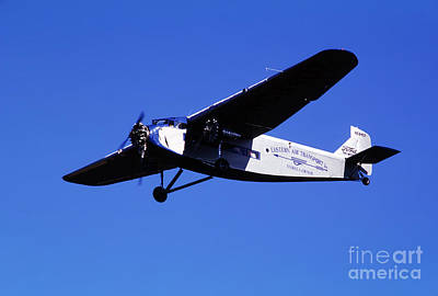 Ford Trimotor Photograph - Eastern Airlines Eal, Ford Tri-motor 4-at-e, Nc8407 by Wernher Krutein
