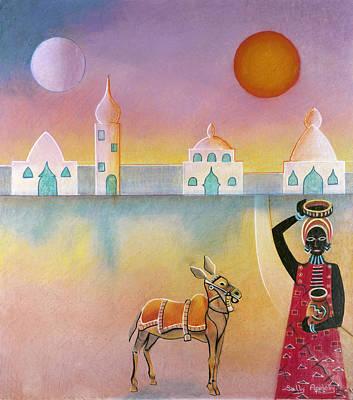 Donkey Mixed Media - Eastern Donkey by Sally Appleby